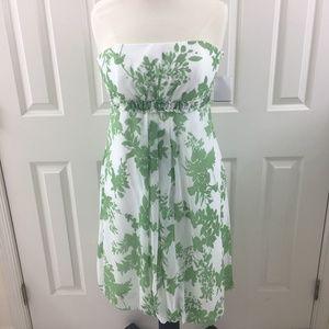 NWT David's Bridal dress with flower prints sz 12